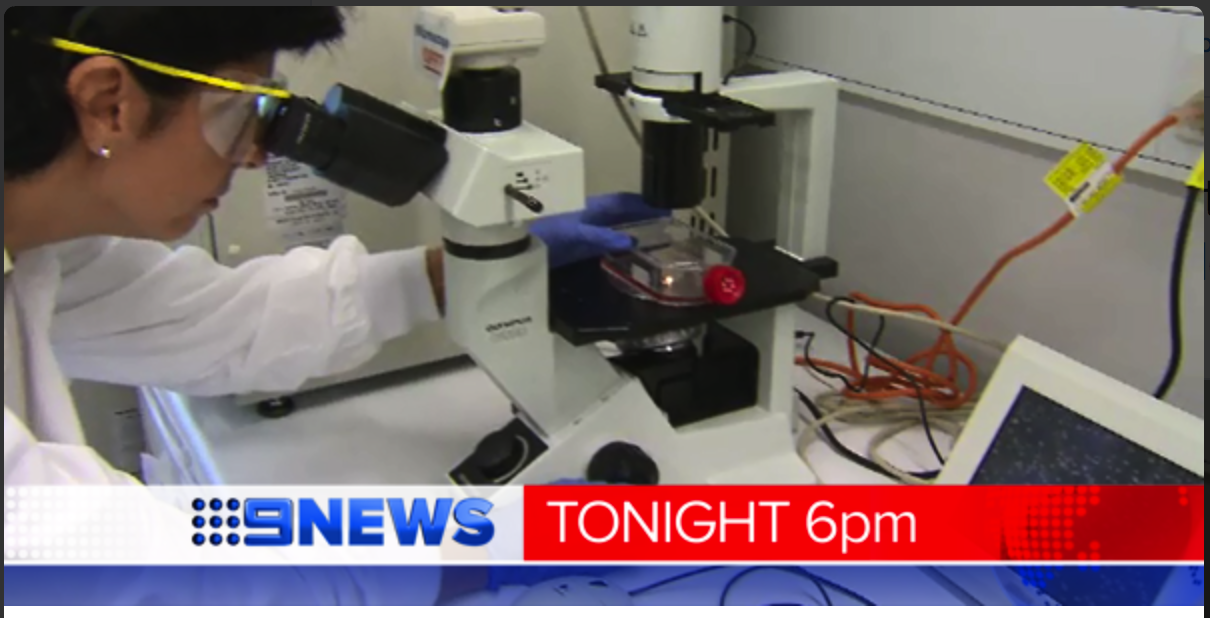 Nine News features promising new breast cancer research