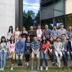 Chinese students experience Australian research